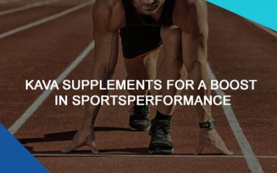 Kava Supplements For A Boost In Sports Performance